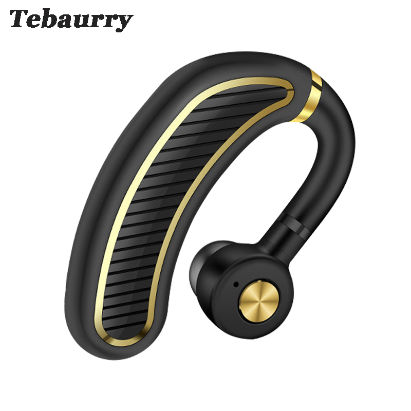 Tebaurry K21 Business Bluetooth Headset With Mic Long Standby Bluetooth Earphone Headphone Wireless for phone iphone xiaomi