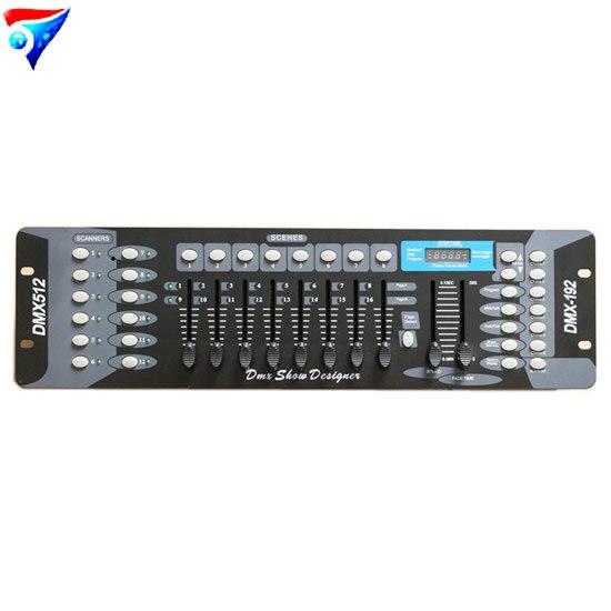 192 DMX Stage Lighting DJ Equipment Console For Led Par Moving Head Spotlights