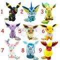 Pokemon eevee плюшевые игрушки 9 шт./компл. 17-21 см pokemon плюшевые установить фаршированная Sylveon Eevee Espeon Jolteon Вапореон Flareon Glaceon игрушки