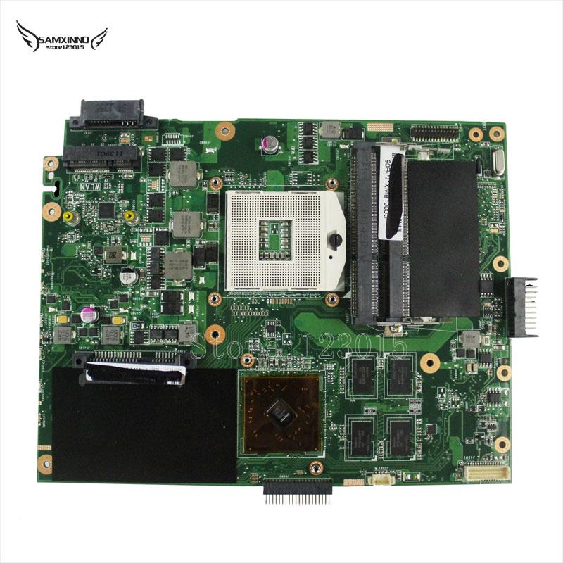 Prix pour Pour asus k52jr motherboard ordinateur portable 4 pcs vidéo graphique mémoire cartes mainboard rev 2.3a 100% testé et fonctionne bien