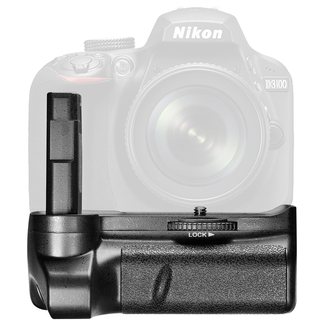 US $20 46 28% OFF|Camera Battery Grip for NIKON D3100 D3200 D3300 SLR  Digital Camera Vertical Shutter Release Button Work -in Battery Grips from