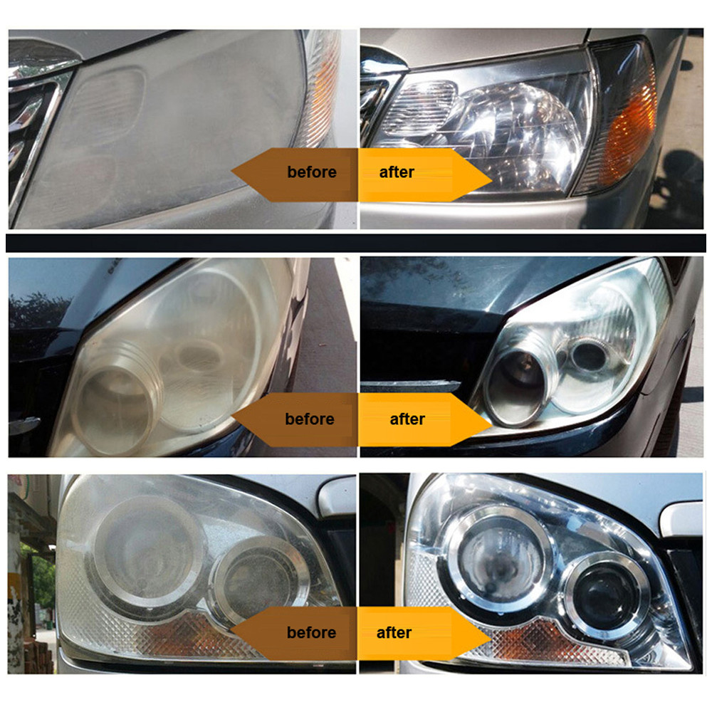 Car Headlights Polish Oxidation Liquid Ceramic Coat Super