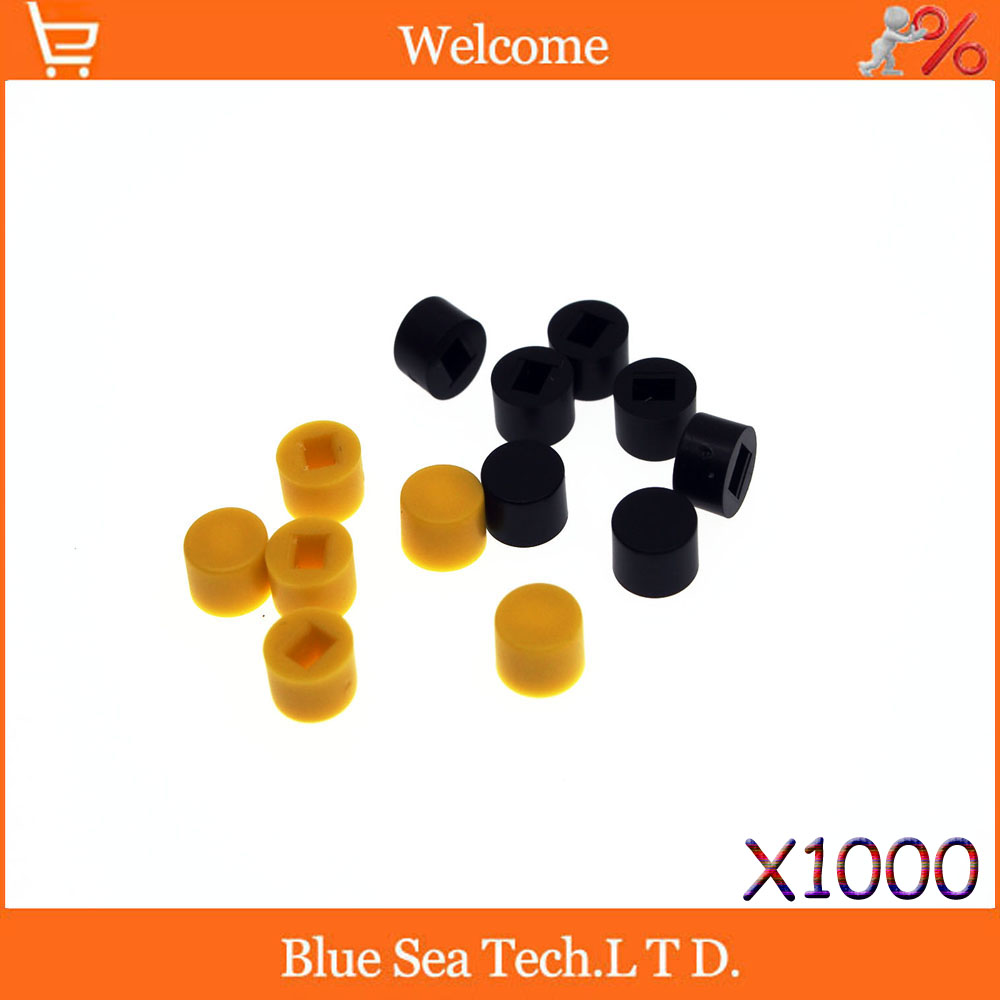 1000 Pcs/Pack Tactile Push Button Switch Cap, switch button Cap Seven Color,Fit:5.8*5.8/7*7/8*8/8.5*8.5mm,Not include switch цены онлайн