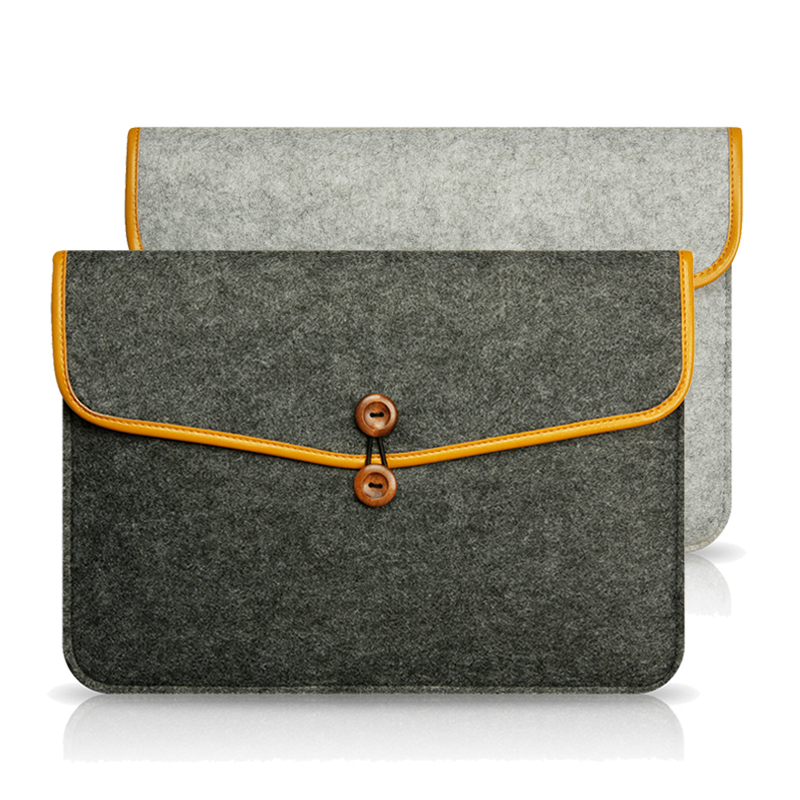 Felt Laptop Sleeve 13.3 For MacBook Air 13 Case,Laptop Bag 11,13,15 Inch Notebook Protective Case For Apple Mac Book Air Pro 13