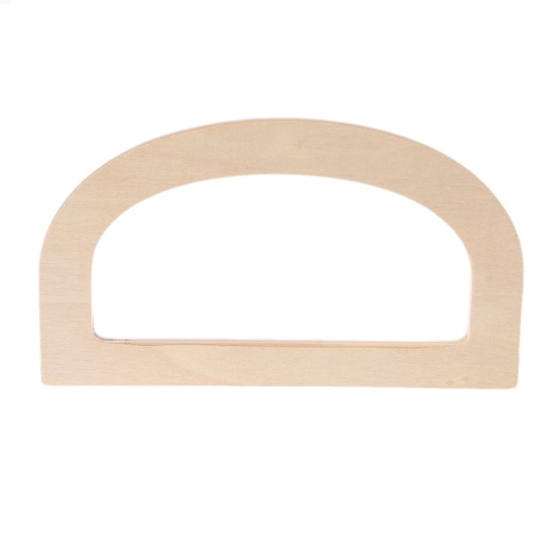 Bag Parts & Accessories Trustful Noenname_null High Quality Wooden Handle Replacement Diy Handbag Purse Frame Bag Accessories