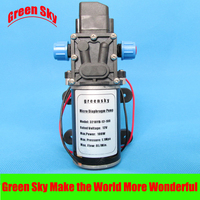 8L/Min 100W DC 12V car washing,medical,chemical equipment,lawn and garden irrigation use high pressure diaphragm pump water