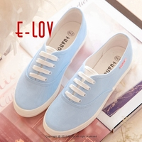 E LOV DQ3 Special Painting Designs Hand Painted Canvas Shoes Personalized Women Men Adult Casual Shoes