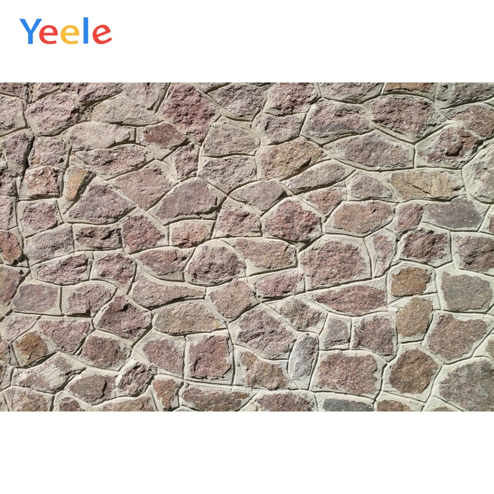 Yeele Grunge Stone Brick Wall Wedding Portrait Kid Photography Backgrounds Personalizado Photographic Backdrops For Photo Studio in Background from Consumer Electronics