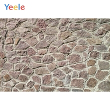 Yeele Grunge Stone Brick Wall Wedding Portrait Kid Photography Backgrounds Personalizado Photographic Backdrops For Photo Studio