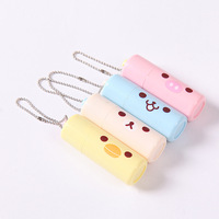 New Arrival Cute Cartoon Nail Clippers Battery Model Belt Chain Pendant Portable Nail Scissors Stainless Steel
