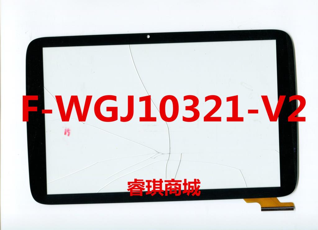 10.1 inch black in stock F-WGJ10321-V2 tablet pc touch screen panel Digitizer Glass sensor replacement F-WGJ10321 WGJ10321