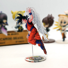 Love Thank You Dragonball Z Son Goku farewell angel acrylic stand figure model double-side plate holder cake topper anime assassination classroom ansatsu kyoushitsu koro sensei acrylic stand figure model double side plate holder cake topper anime