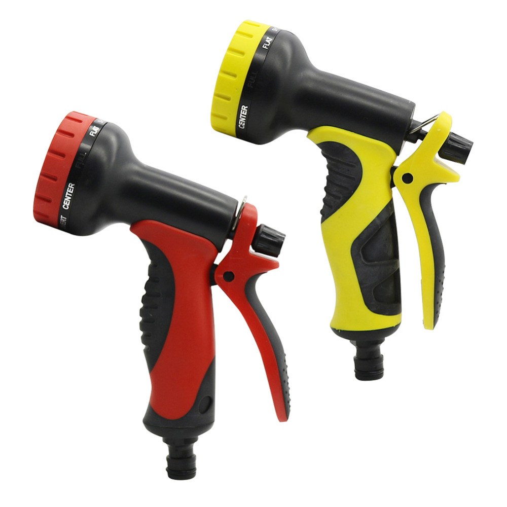 Multifunction 9 Pattern Water Nozzle Yard Garden Car Wash Water Gun For Vehicle cleaning and Gardening Watering 1 Pc