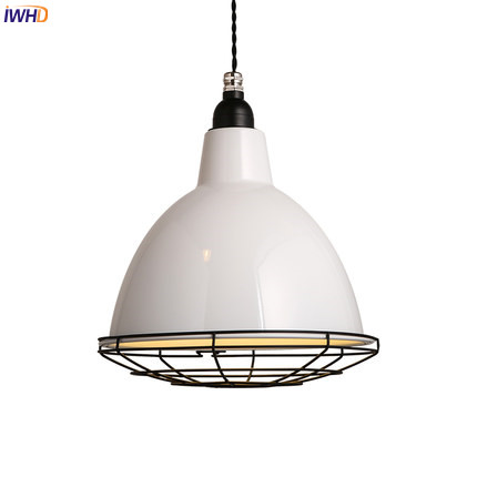 IWHD Nordic Modern LED Pendant Lamp Bedroom Living Room Iron Wrount White Hanging Light Lampen Suspension Luminaire Lighting iwhd glass ball modern pendant lamp fashion iron led hanging light fixtures bedroom living room cafe suspension luminaire lustre