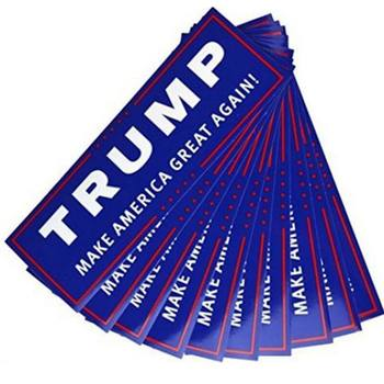 10PCS TRUMP MAKE AMERICA GREAT AGAIN Election Bumper Sticker Truck Car Vinyl Decal 1