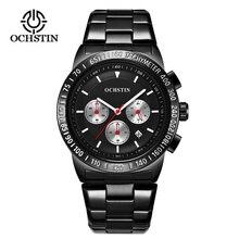 OCHSTIN Watch Men Fashion Sport Quartz Clock 2018  Top Brand Luxury Full Steel Business Waterproof Relogio Masculino Gift