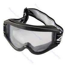 Adult Youth Motorcycle Raider Motocross Dirt Bike ATV Goggle Goggles Black