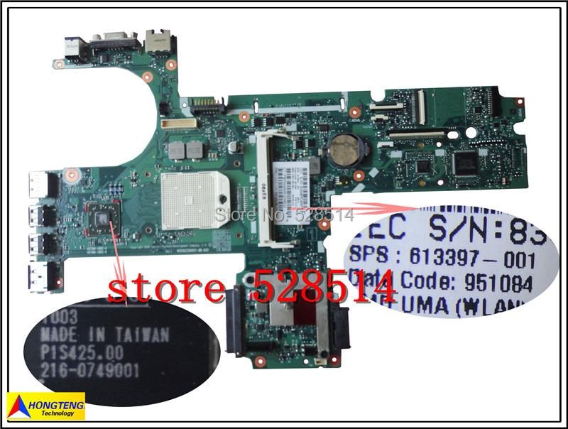 ФОТО original For HP 6455B 6555B Laptop Motherboard 613397-001  100% Test ok