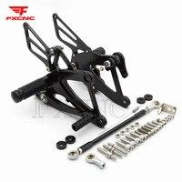 FOR HONDA CBR500R/400R/CB500F/400F 2013 2017 2016 CNC Aluminum Alloy Motorcycle footrest footpeg pedal foot peg Rearset Rear Set