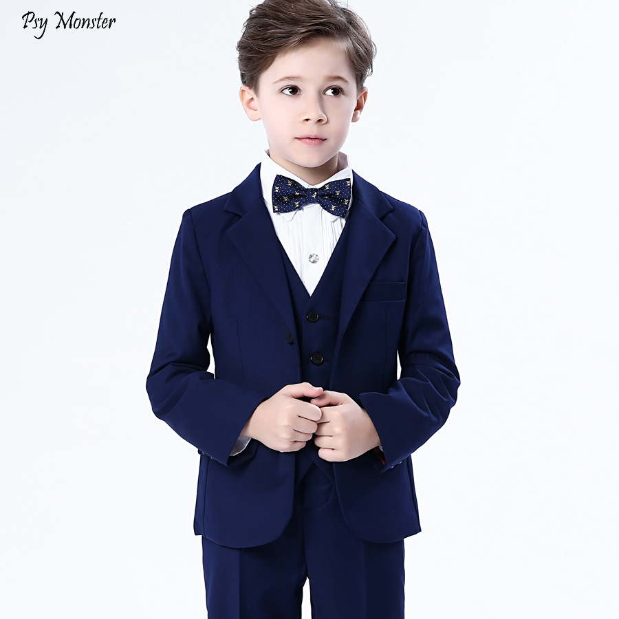 Childrens Tuxedo Dress Suits Set Spring Flower Boy Piano Wedding Party Birthday Costumes Kids Blazer Vest Pants Shirts BowtieChildrens Tuxedo Dress Suits Set Spring Flower Boy Piano Wedding Party Birthday Costumes Kids Blazer Vest Pants Shirts Bowtie
