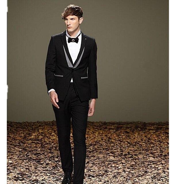 Aliexpress.com : Buy latest black gun collar buttons/groom suit/best ...