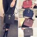 Fashion Women Satchel Crossbody Shoulder Bag PU Leather Tote Handbag Purse Bag