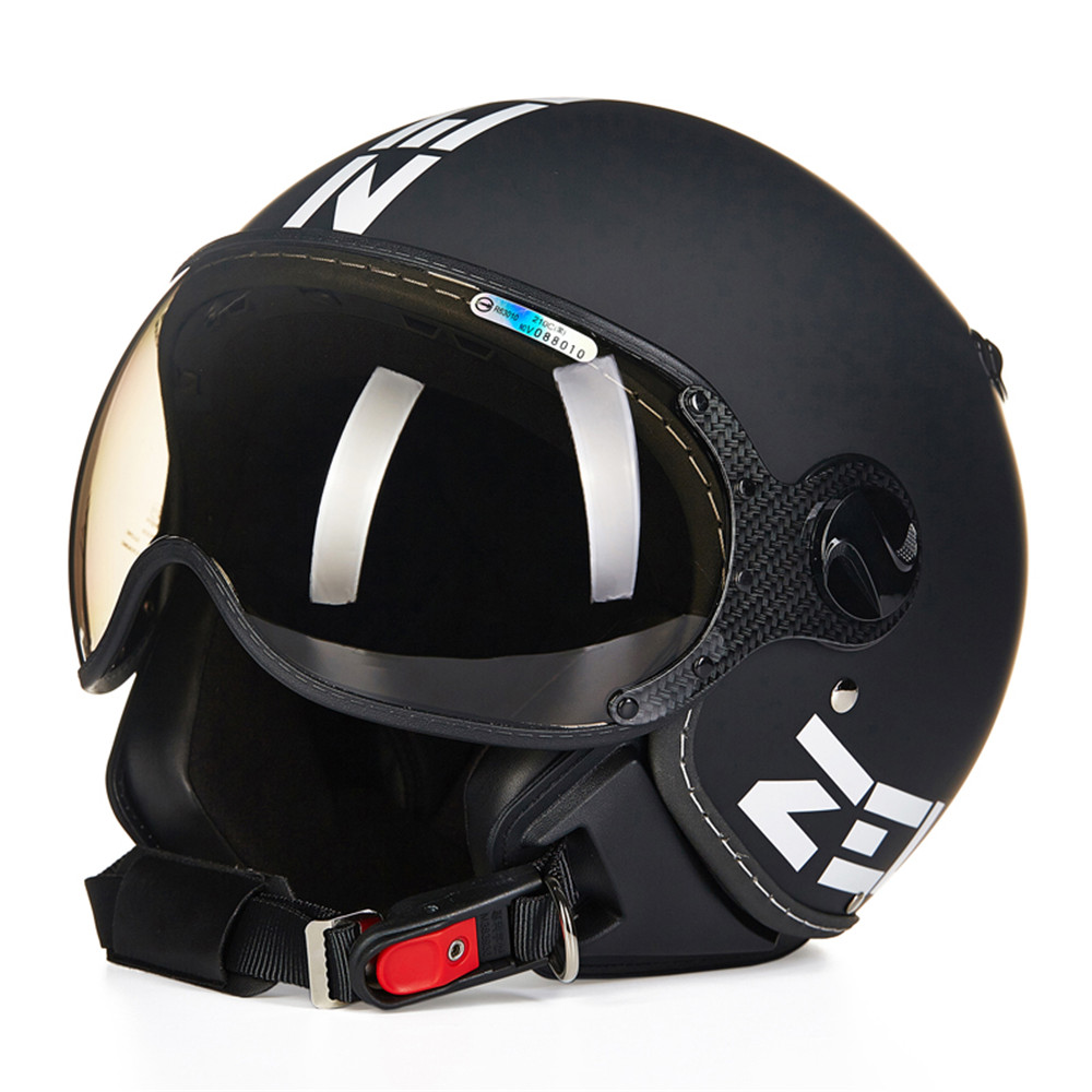 Fashion Motorcycle Helmet Chopper Open Face Vintage Helmet HZ210C Moto Casque Casco motocicleta Capacete Pilot Men