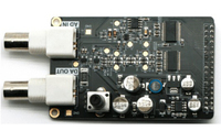Free Shipping 1PCS High Speed AD DA Module Matching FPGA Black Gold Development Board