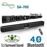 Nobsound SA 705 Bluetooth Soundbr 5,1 surround sound домашний театр 4 Ближний бас 2 твитеры низкочастотного усиления динамик