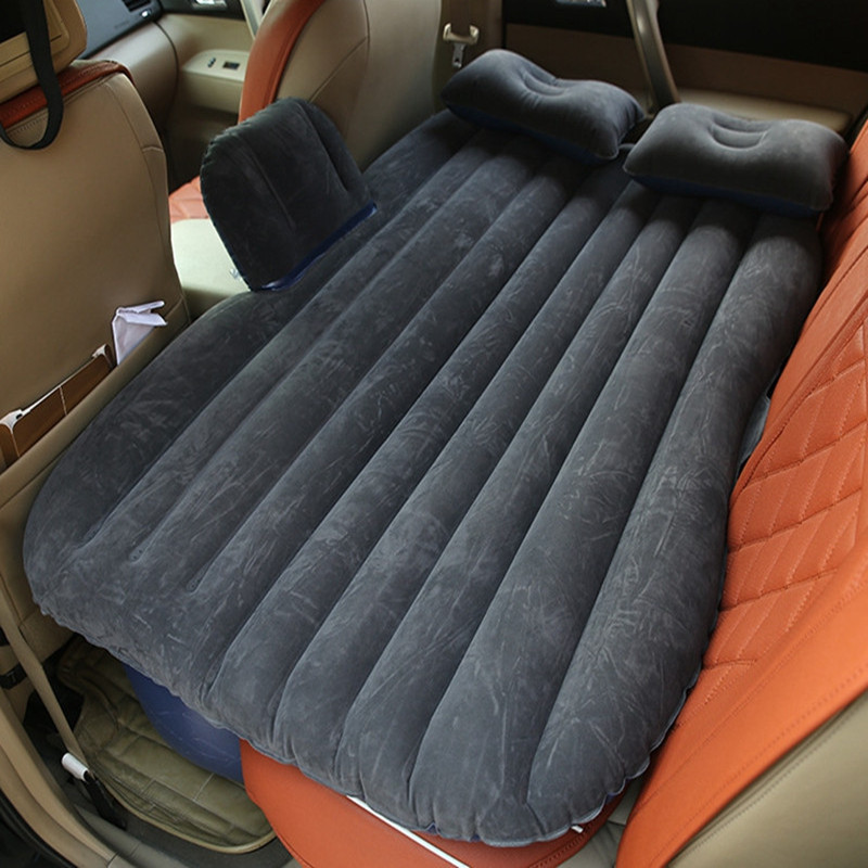 2018 Top Selling Car Back Seat Cover Car Air Mattress Travel Bed Inflatable Mattress Air Bed Good Quality Inflatable Car Bed dhl for all cars universal car travel bed car back front car air mattress travel bed inflatable mattress air bed good quality