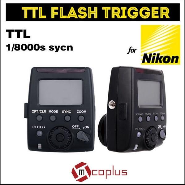 Meike GT-600N i-TTL 1/8000s HSS 2.4G Wireless Flash Trigger for Nikon D7100 D7000 D5100 D5000 D5200 D90 D70 inseesi pixel king x receiver rx 2 4g ttl wireless flash trigger high speed 1 8000s for nikon camera d7000 d3100 d5200 d600 d90