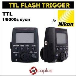 Meike GT-600N i-TTL 1/8000s HSS 2.4G Wireless Flash Trigger for Nikon D7100 D7000 D5100 D5000 D5200 D90 D70