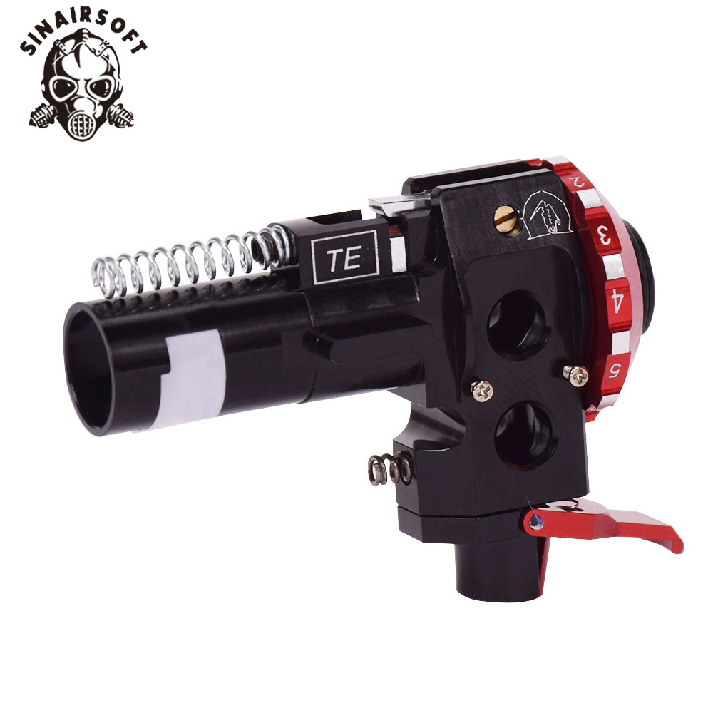Tactical High Precision PRO AEG CNC Aluminum Red Hop Up Chamber For M4 M16 Airsoft Hunting Accessories Paintball Target Shooting-4
