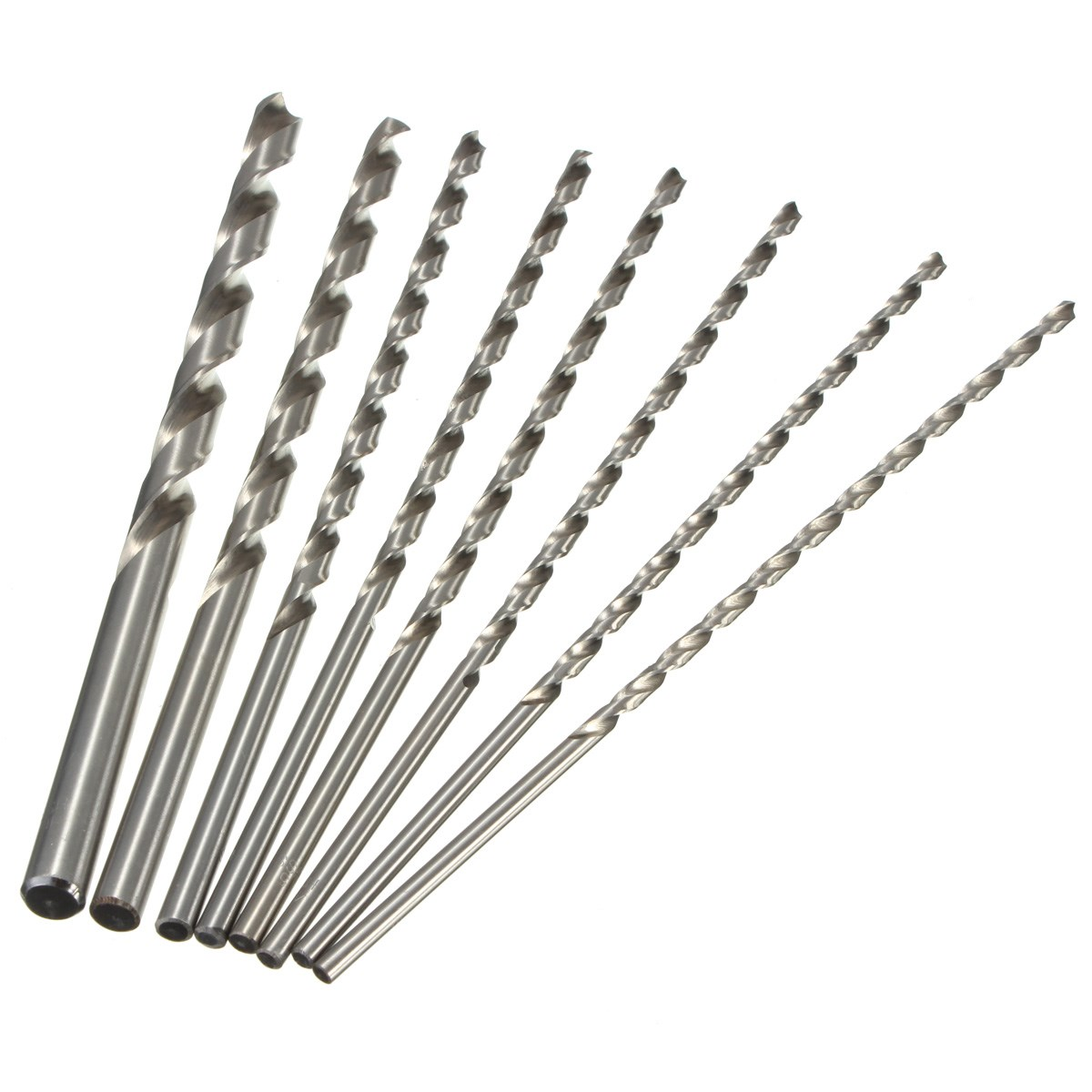 1PC Extra Long 200mm HSS Twist Drill 4mm 5mm 6mm 8mm 10mm Straigth Shank Auger Wood Metal Drilling Tool Top Quality 10pcs 0 5mm micro hss twist drilling auger bit for electrical drill new page 1