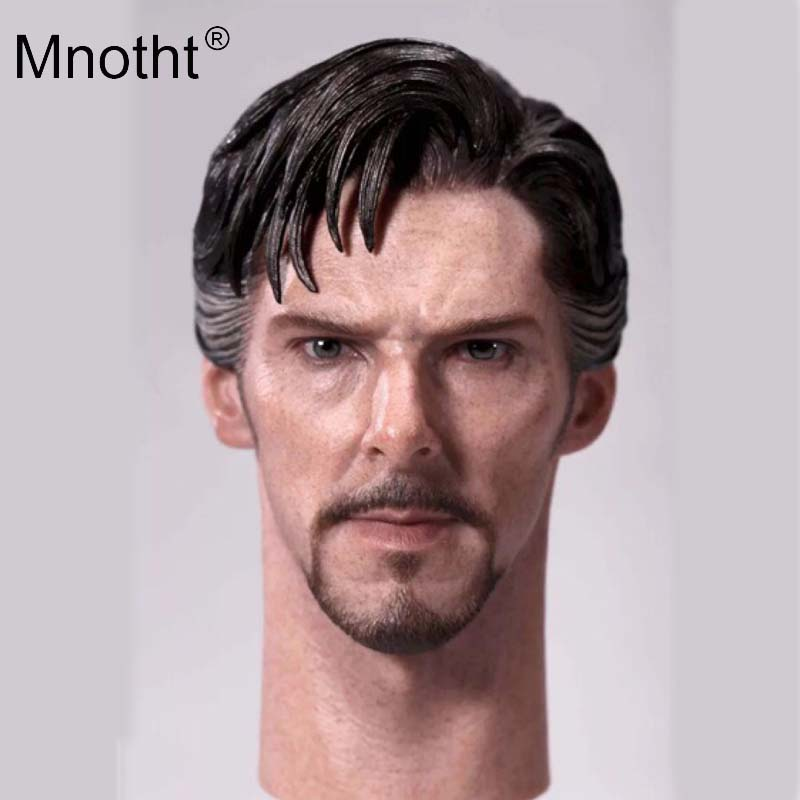 Benedict Head Sculpt 1/6 Male Soldier Head Sculpt Superhero Stephen Strange Model for 12inch Action Figure Toy Collection Mnotht hot 1 6 figure toys head sculpt 1 6 jason statham iron man tony head for 12 inch soldier action figure ht hottoys model toy