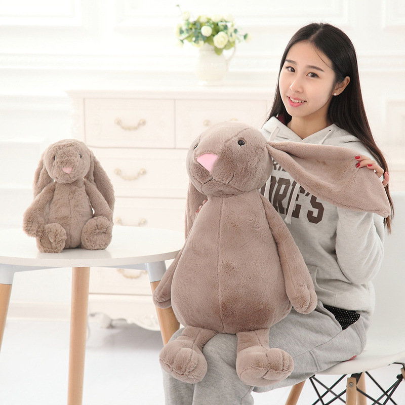 30-40cm Long Ears Bonbon Rabbit Plush Toys Placating Toys for Children Animal toys baby Sleeping mate New Year Gift For Girls  - buy with discount