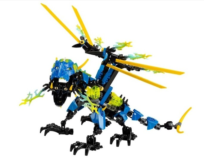 Decool Model building kits compatible with lego Hero Factory thunder dragon3D blocks Educational toys hobbies for children rastar 28500 hummer h2