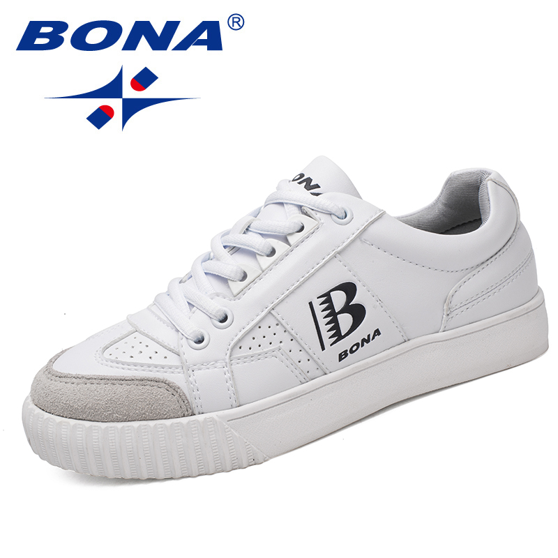 BONA New Typical Style Women Skateboarding Shoes Outdoor Jogging Sneakers Lace Up Women Athletic Shoes Soft Fast Free Shipping
