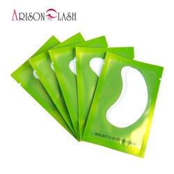 50 paires/pack Nouveau Papier Patches Cils Sous Tampons Oculaires Cils Extension de Cils Papier Eye Patches Conseils Autocollant Wraps Make Up outils