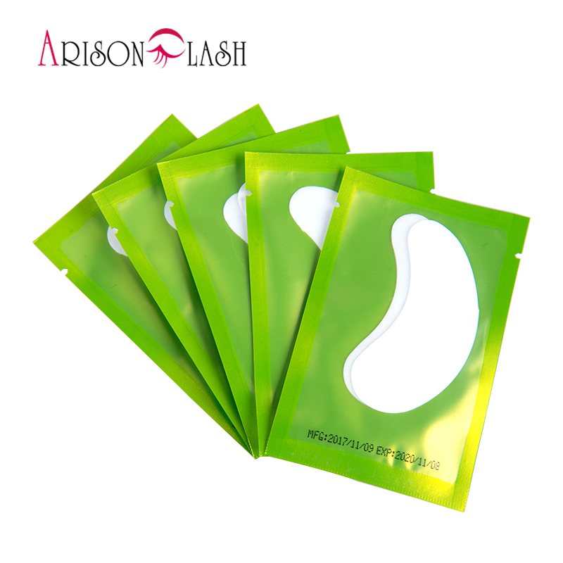 50pairs/pack New Paper Patches Eyelash Under Eye Pads Lash Eyelash Extension Paper Patches Eye Tips Sticker Wraps Make Up Tools 50 pairs new gel eye pads under eye patches for eyelash extension pads lint free patch for eye lashes make up eye tips sticker