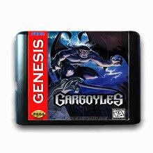 Gárgulas de 16 bits da Sega MD Cartão de Jogo para o Mega Drive para Genesis
