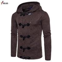 2017 Men Sweater Spring Autumn Warm Knitwear Cardigans Coat Casual Slim fit Sudaderas Jackets Men Multi pocket Sweatercoat S XXL