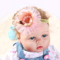1 PC Girl Head Accessories hairband Baby Princess Queen Rhinestone Tiara Hair Band Headband Kids Elastic Flower Crown Headwear