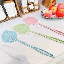 New Plastic Fly Swatter Household Fly Shot Lengthened Handle Prevent Pest  Mosquito Shot For Summer Mosquito Kill
