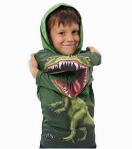 V-TREE crianças Roupas meninos camisa de manga longa new hot 3D dragão crianças hoody meninos roupa dos miúdos hoodies