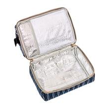 Stylowy elegancki plecak torba dla mamy i dziecka termo folia na butelki