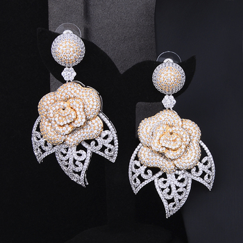 Luxury Blooming Flowers Jewelry Set  4