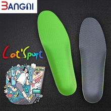 Buy 3ANGNI Soft Height Increase Breathable Women Men Shoes Free Size EVA Arch Support Running Insert Insoles directly from merchant!