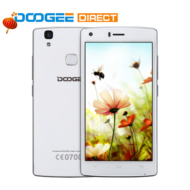 DOOGEE X5 Max Pro 2GB+16GB MTK6737/ X5 Max 1GB+8GB MTK6580 5.0'' Android 6.0 Smartphone 4000MAh Quad Core Fingerprint Sensor