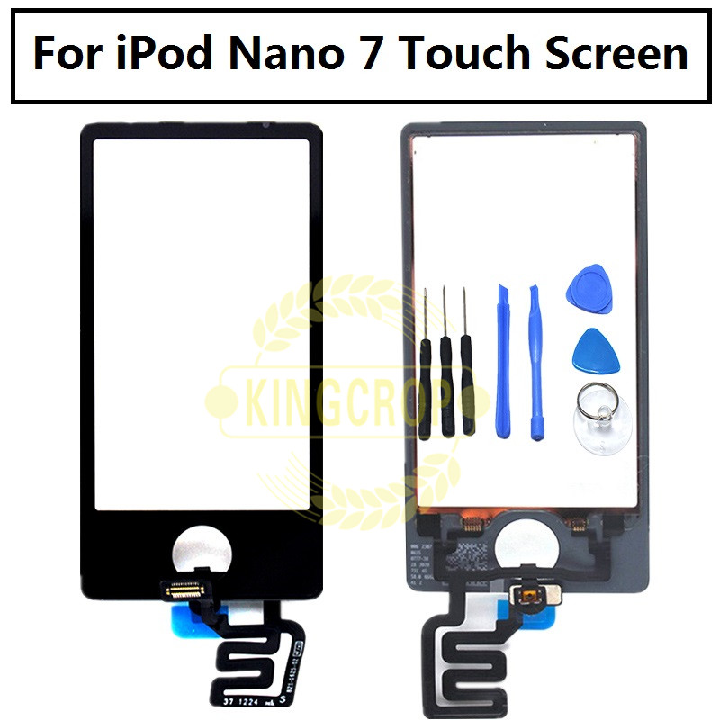 AAA quality LCD display touch screen with LCD digitizer assembly For Ipod nano 7 7th,Free Tools(China)